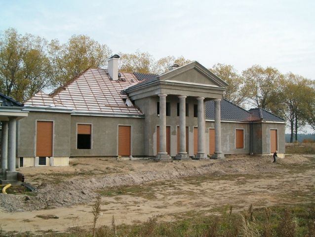House In The Style Of Polish Manor House Lniano Architecture Grupa Projektowa Zoom